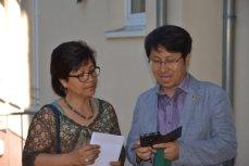 Pfarrer Kang und Frau Jorda