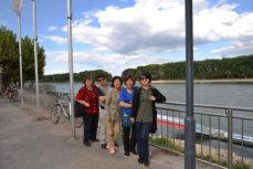Am Rhein in Worms